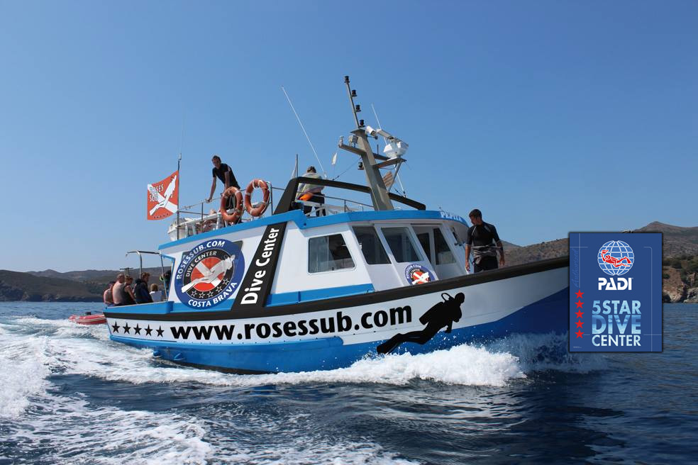 barco de buceo Roses